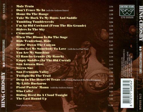 25 Cowboy & Western Songs