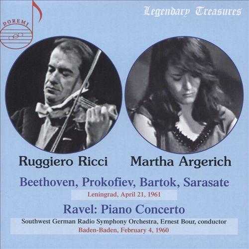 Argerich & Ricci - Leningrad 1961