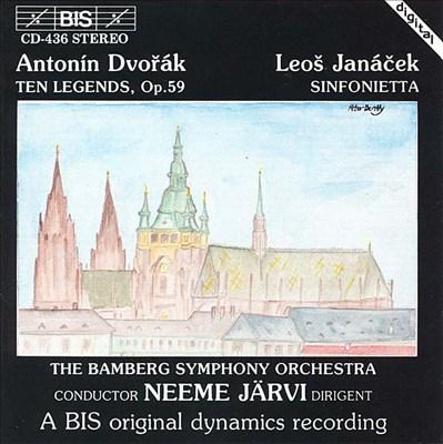 Dvorák: Ten Legends; Leos Janácek: Sinfonietta