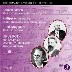 The Romantic Violin Concerto, Vol. 22: Lassen, Scharwenka, Langgaard