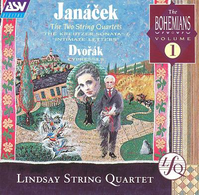 Janácek: The Two String Quartets; Dvorák: Cypresses