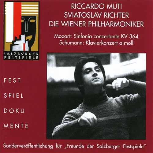 Mozart: Sinfonia Concertante; Schumann: Klavierkonzert