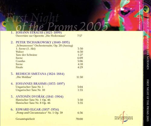 First Night of the Proms, 2005