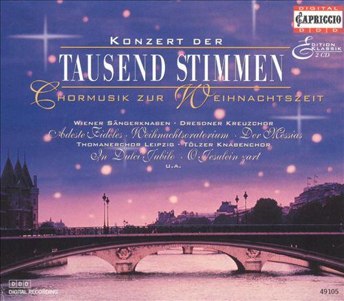 Konzert der 1000 Stimmen: Weihnachts