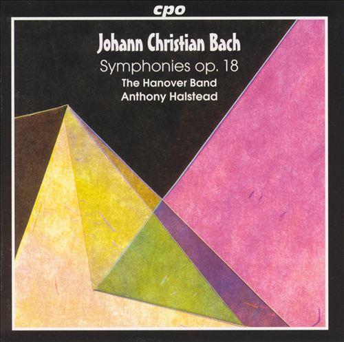 J.C. Bach: Symphonies, Op. 18