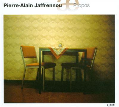 Pierre-Alain Jaffrennou: Propos