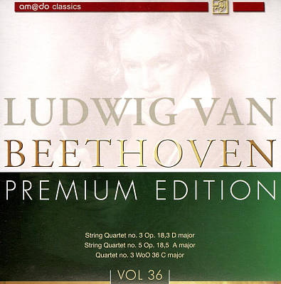 Beethoven: Premium Edition, Vol. 36