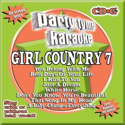Party Tyme Karaoke: Girl Country, Vol. 7