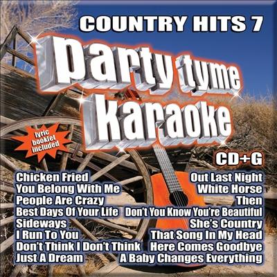 Party Tyme Karaoke: Country Hits, Vol. 7
