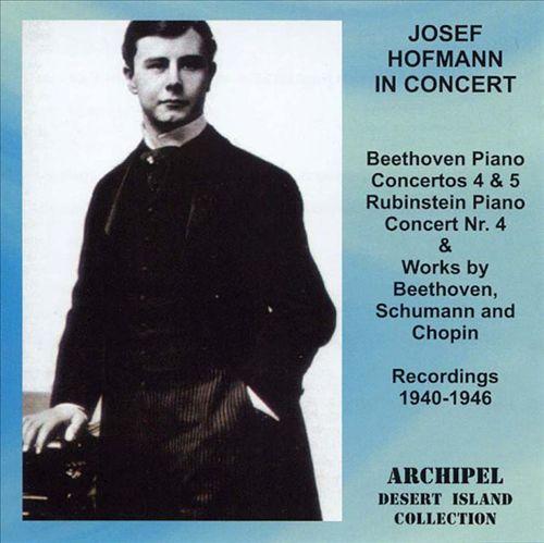 Josef Hofmann in Concert