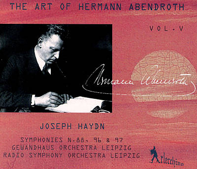 The Art of Hermann Abendroth Vol. V
