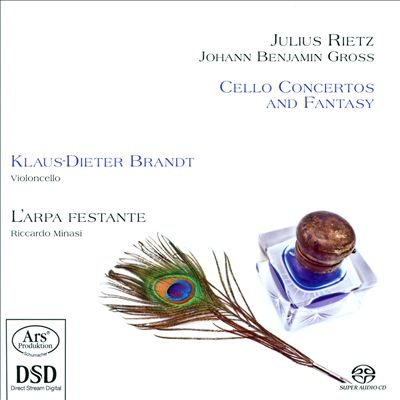 Julius Rietz, Johann Benjamin Gross: Cello Concertos and Fantasy