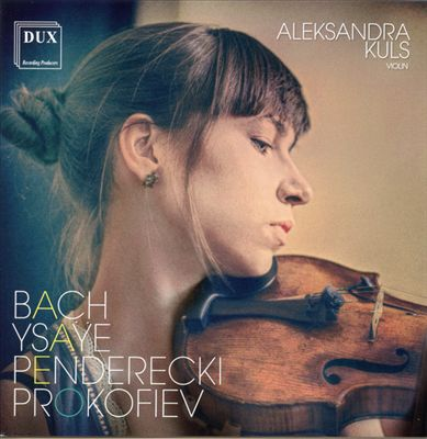 Bach, Ysaye, Penderecki, Prokofiev