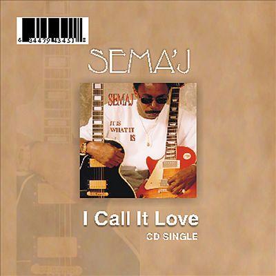 I Call It Love (CD Single)