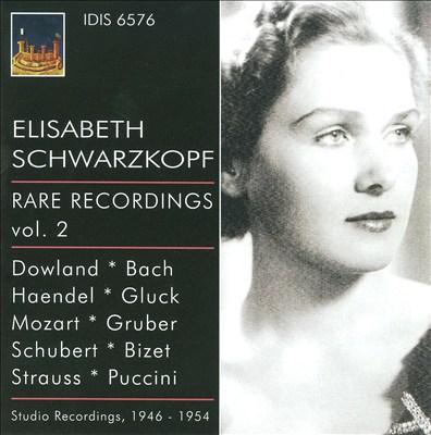 Elisabeth Schwarzkopf: Rare Recordings, Vol. 2