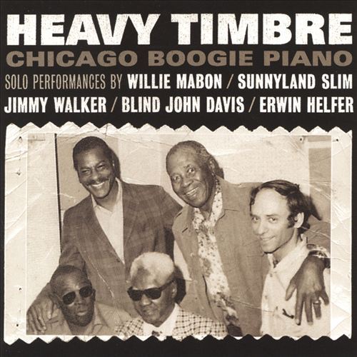Heavy Timbre: Chicago Boogie Piano