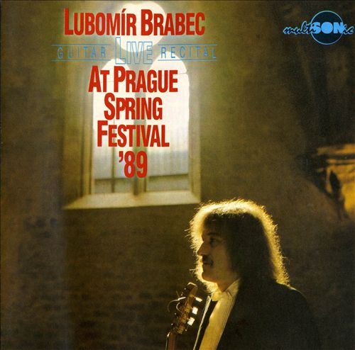 Lubomír Brabec Live Guitar Recital at Prague Spring Festival, 1989