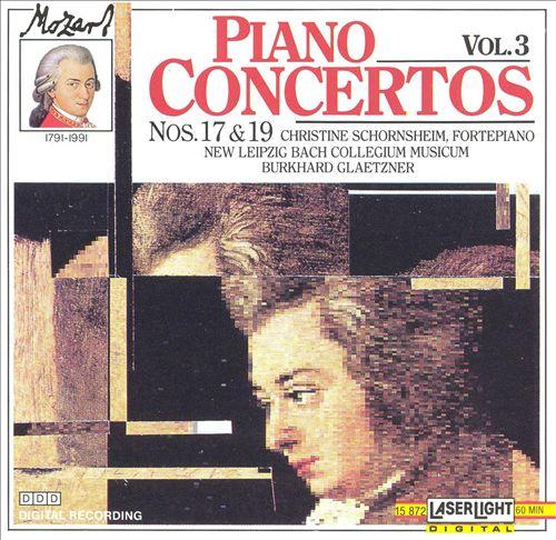 Mozart: Piano Concertos Nos. 17 & 19