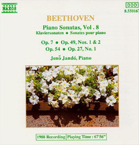 Beethoven: Piano Sonatas, Vol. 8