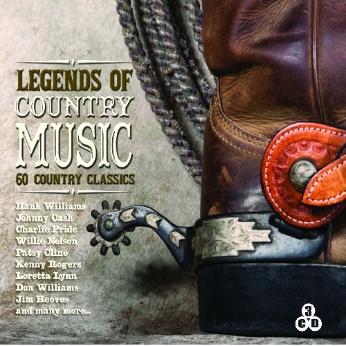 Legends of Country Music [Music Digital]