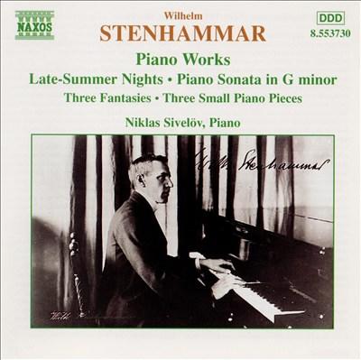 Stenhammar: Piano Works