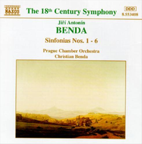 Jirí Antonín Benda: Sinfonias Nos. 1-6