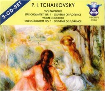 Tchaikovsky: Violin Concerto; String Quartet No. 1; Souvenir de Florence; Etc. [Germany]
