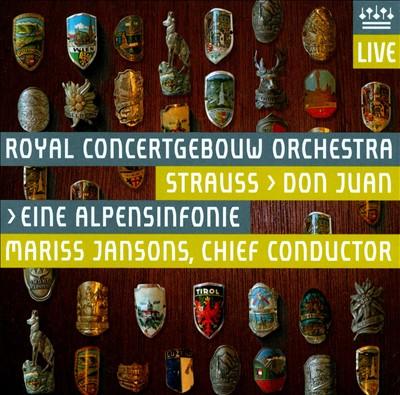 Strauss: Don Juan; Eine Alpensinfonie