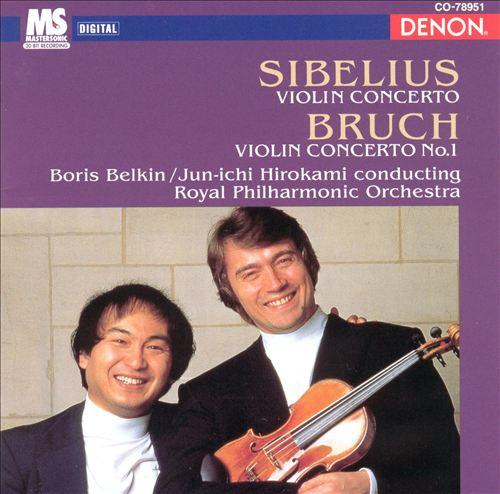 Bruch, Sibelius: Violin Concertos