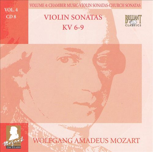 Mozart: Complete Works, Vol. 4 - Chamber Music, Violin Sonatas, Church Sonatas, Disc 8