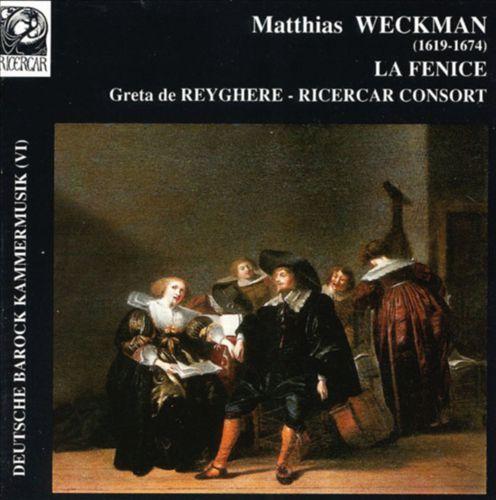 Deutsche Barock Kammermusik, Vol. 6 - Weckman