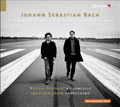 Bach: 3 Sonatas for Viola da Gamba and Harpsichord, BWV 1027-1029