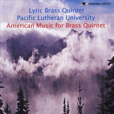 American Music for Brass Quintet