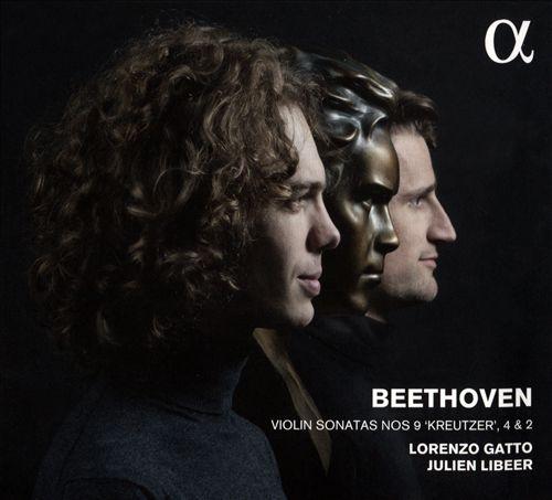 """Beethoven: Violin Sonatas Nos. 9 """"Kreutzer"""", 4 & 2"""