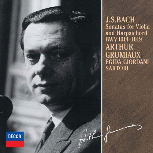 J.S. Bach: Sonatas for Violin and Harpsichord BWV 1014-1019