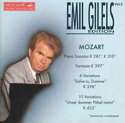 Emil Gilels Edition, Vol. 3