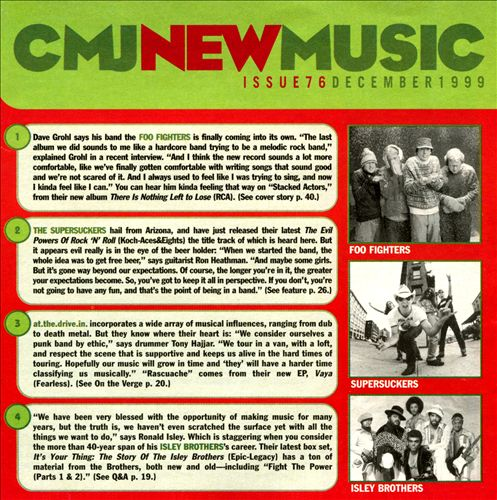 CMJ New Music, Vol. 76: December 1999