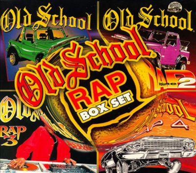 Old School Rap, Vols. 1-4 [Box Set]