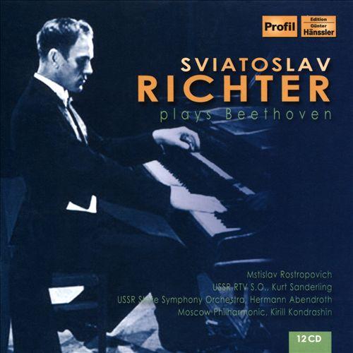 Sviatoslav Richter Plays Beethoven