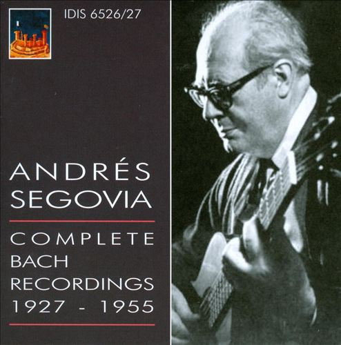 Complete Bach Recordings, 1927-1955