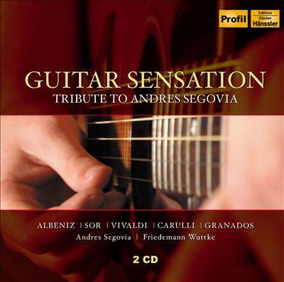 Guitar Sensation: Tribute to Andres Segovia