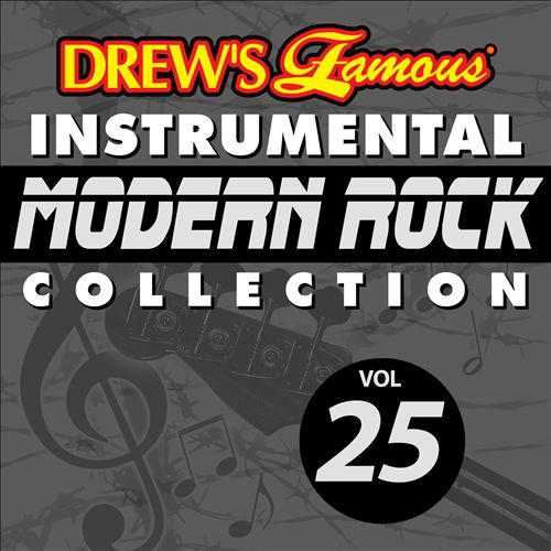 Drew's Famous Instrumental Modern Rock Collection, Vol. 25