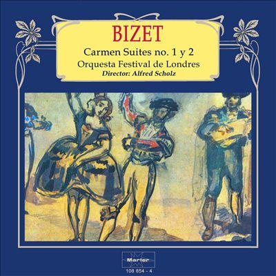 Bizet: Carmen Suites Nos. 1 y 2