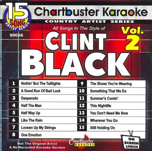 Chartbuster Karaoke: Clint Black