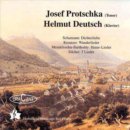 Josef Protschka (Tenor); Helmut Deutsch (Klavier)