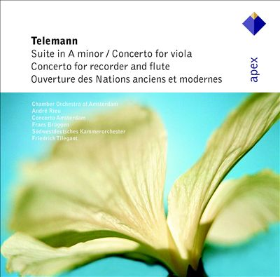 Telemann: Suite in A Major; Concertos in E Minor & G Major; Ouverture Des Nation