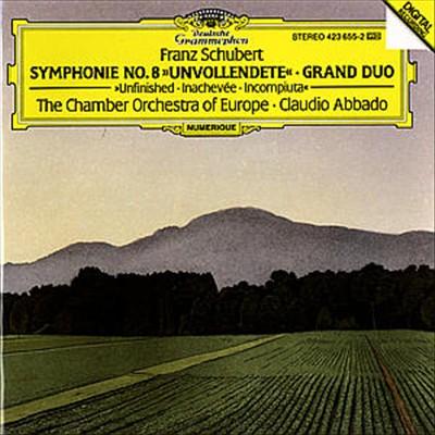 "Franz Schubert: Symphonie No. 8 ""Unvollendete""; Grand Duo"