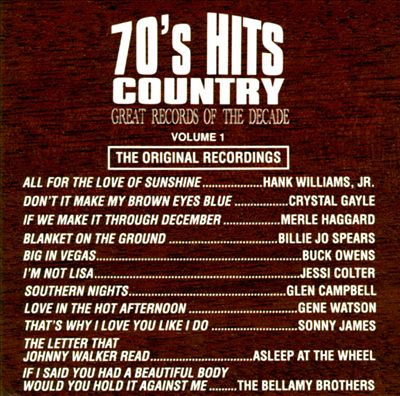 Great Records of the Decade: 70's Hits Country, Vol. 1