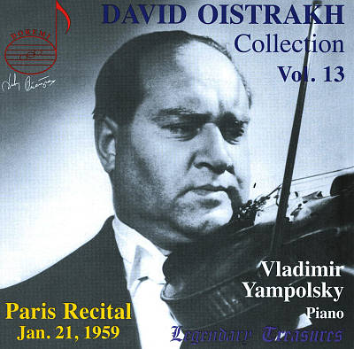 David Oistrakh Collection, Vol. 13