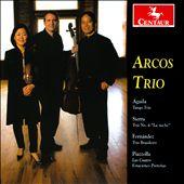 """Águila: Tango Trio; Sierra: Trio No. 4 """"La noche""""; Fernández: Trio Brasileiro; Piazzolla: Las Cuatro Estaciones Porteñas"""